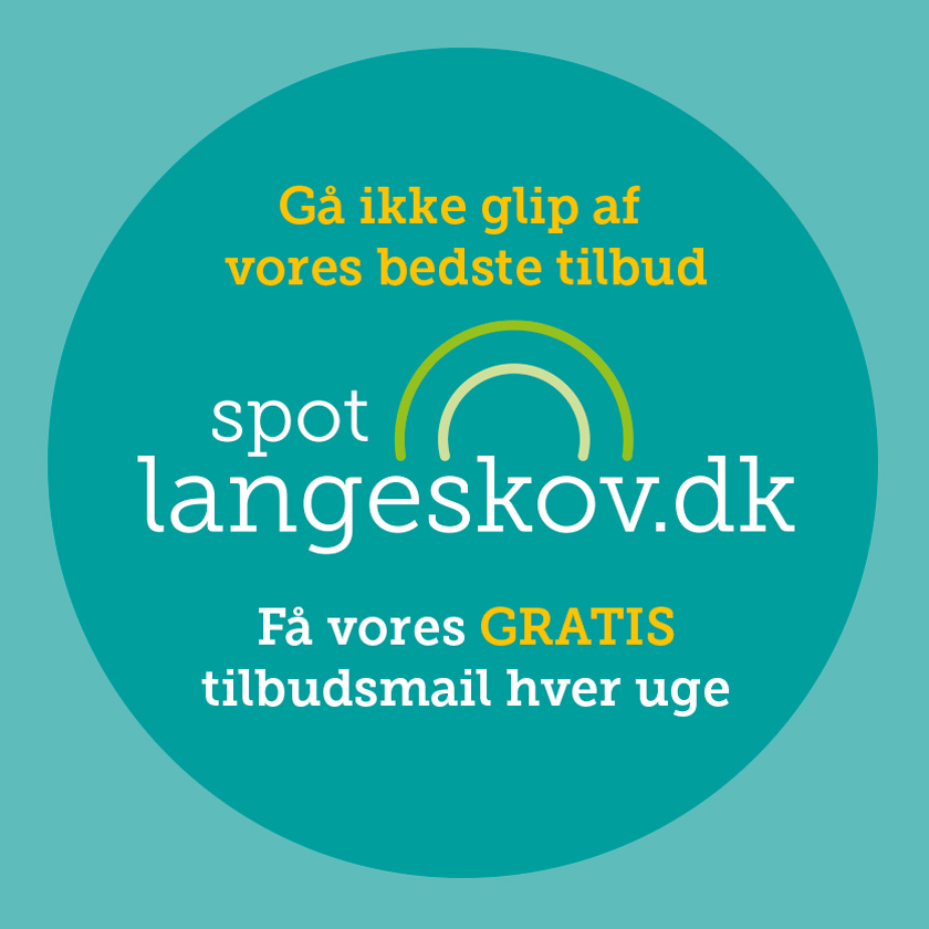 Spot Langeskov sticker